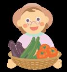 農家の人のイメージ