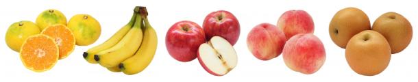 バナナやリンゴなど人気の果物